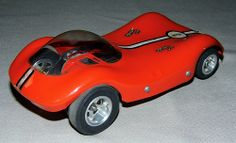 Vintage Classic Industries Manta Ray GTX Slot Car, 1/24 Scale, Circa 1960s.