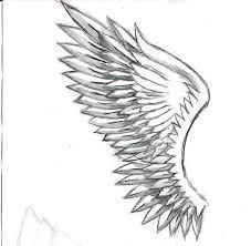 alas de angel dibujo a lapiz  Buscar con Google  DRAWINGS