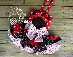 Toddler-Girls Minnie Mouse Dress, Red Polka Dot, Super Poufy Tons of Ruffle Skirt with Halter, Over the Top, Size 12 month through 8 Pink Minnie Mouse Dress, Twirl Skirt, Ruffle Skirt, Ruffles, Rabbit Costume, Baby Girl Fashion, Toddler Pageant, Toddler Dress, Toddler Girls