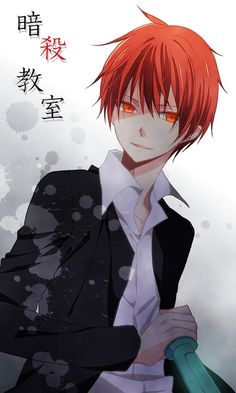 assassination classroom, anime, and karma akabane image