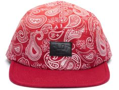 Fade Paisley 5 Panel Hat by CLOT