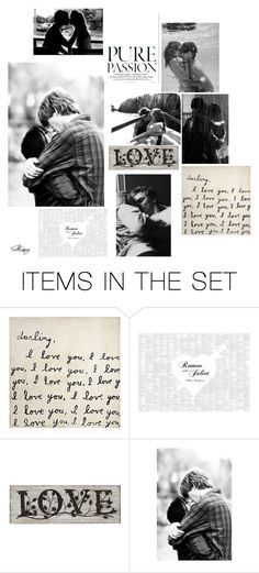"""""""Passion"""" by mizery4u ❤ liked on Polyvore featuring art, passion, couple, kiss and Desire"""