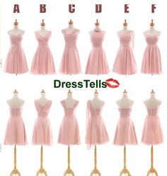 Pink bridesmaid dresses  Blush pink bridesmaid dress by dresstells, $89.99