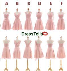 Rosa Brautjungfer Kleider  Blush rosa Brautjungfer von dresstells, $89.99