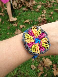oh my gosh! this is a really cool rainbow loom bracelet! http://www.mastermindtoys.com/Rainbow-Loom-and-Related-Products.aspx