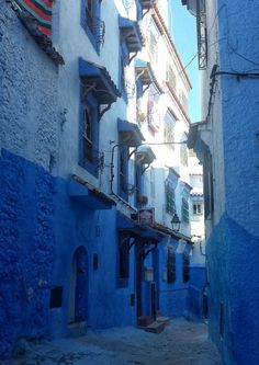 Mike Sowden photo:  Chefchaouen, Morocco, Africa #blue #city #travel