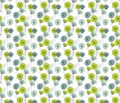 Dandelion fabric by texture on Spoonflower - custom fabric