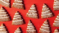 Gingerbread Trees With Lemon Icing Recipes — Dishmaps
