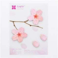 Large Cherry Blossom Sticky Notes