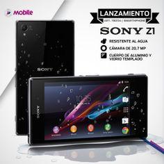 Conocé el nuevo #SonyXperia Z1 y disfrutá de la mejor cámara del mundo en un Smartphone a prueba de agua. http://www.fravega.com/celular-libre-sony-xperia-z1.html