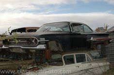 pictures or scrap cars | Junk yard tours, Woller Auto Parts, Lamar Colorado.