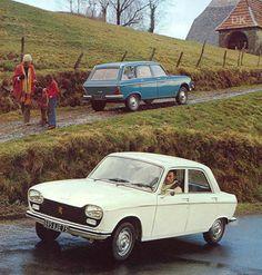 1976 Peugeot 204 Sedan & Break
