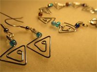 Paperclip Jewelry- Made to order custom designs.