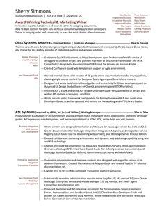 technical resume writer