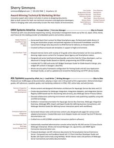 Technical Writer Resume Samples VisualCV Resume Samples Database  Nmctoastmasters  Writer Resume Sample