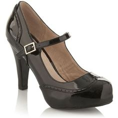 burgundy and black mary janes - Google Search