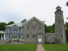 Cumberland Head lighthouse [1868 - Plattsburgh, New York, USA]