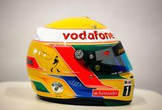 Lewis Hamilton . McLaren 2012