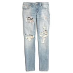 Madewell The Boyjean: Worn And Torn Edition