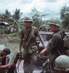 "A tribute to the Vietnam War. ""No event in American history is more misunderstood than the Vietnam. Vietnam History, Vietnam War Photos, American War, American History, American Soldiers, Brown Water Navy, North Vietnam, Vietnam Map, Indochine"