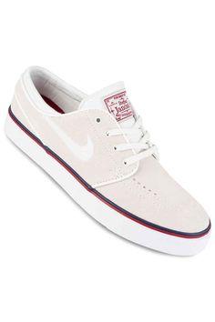 b587f30dcb39 Nike SB Zoom Stefan Janoski Shoes in summit white ivory