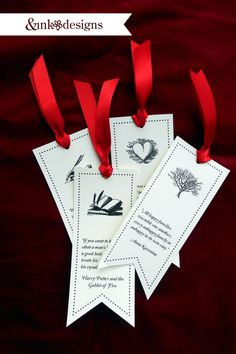 book quote bookmarks ... lovely little gift for a reader.