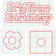 SVG Birthday