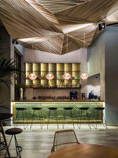 Com best cocktail bars, bar interior design, restaurant interior desig Design Bar Restaurant, Deco Restaurant, Luxury Restaurant, Restaurant Ideas, Restaurant Lighting, Bar Interior Design, Design Hotel, Cafe Design, Design Design