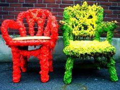 DIY Reclaimed Refuse Seating
