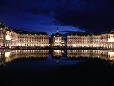 Bordeaux, France. So beautiful to walk out here during the evening. Another place I will revisit :)