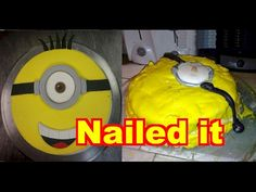 This video shows a compilation of people trying to create their own work of art cakes but instead create something totally funny looking. Epic Fail Pictures, Funny Pictures, Cake Art, Art Cakes, Picture Fails, Picture Collection, Viral Videos, Minions, Artwork