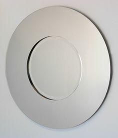 All Mirror Mirrors: Small Round Two Panel Mirror 600mm dia