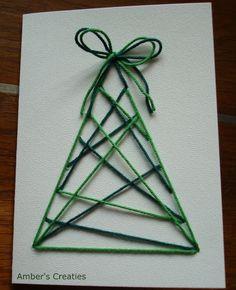 Amber's Creaties: Snelle Kerst-Boom-Kaarten 2
