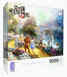 Thomas Kinkade - The Wizard of Oz - 1000 Piece Jigsaw Puzzle