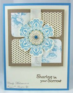 mixed bunch  Blossom Sympathy by discoverstampin - Cards and Paper Crafts at Splitcoaststampers