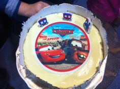 Disney Cars cake for a 3 year old