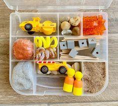 Play Doh Kits, Diy Play Doh, Play Dough, Dough Box, Sensory Boxes, Sensory Play, Sensory Tubs, Playdough Activities, Toddler Activities