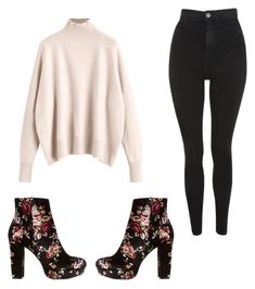 """""""Untitled #269"""" by erumwaseem on Polyvore featuring Topshop and Charlotte Russe"""
