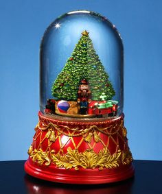 Look at this #zulilyfind! Nutcracker Tree Domed Musical Water Globe #zulilyfinds