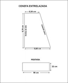 CORTINAS Y CENEFAS on Pinterest | Valances, Diy Curtains and Curtains