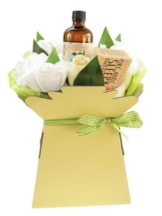 Our gorgeous and practical Unisex Baby Bath Bouquet