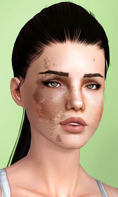 Happy Valentines Day, simblerina! I have made you a set of birthmarks as in game tattoos :) Since they are tattoos they are fully recolourable and the scale+opacity can be adjusted. I recommend using...
