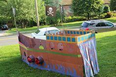 4 homemade pirate ship for kids http://hative.com/creative-diy-cardboard-playhouse-ideas/