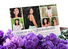 multi picture graduation card from Minted. www.yourstrulyjenn.com