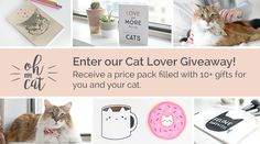 Help me win this cat lover prize pack from @ohmycatshop! You can enter here https://gleam.io/ruIxR/cat-lover-prize-pack-giveaway