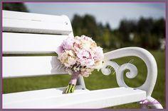 wiązanka ślubna, bukiet ślubny z piwonii, hortensji