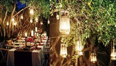 Image result for small rural outdoor wedding lights