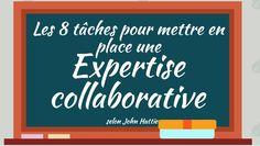 Analyse du livre numérique de John Hattie cherchant à décrire un modèle d'expertise collaborative qui serait profitable pour le milieu scolaire.