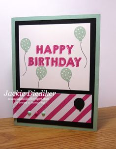 Mt take on the current Pals Paper Arts Challenge using the fabulous 'It's My Party' Suite items from Stampin' Up!