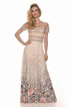 6d7640804 Woman - Fascinius Moda Evangélica. Roupas FloraisRoupas ElegantesVestido ...